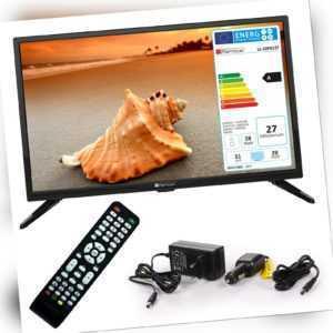 Wohnmobil Camping Fernseher LED TV 20 Zoll LCD DVB S S2 T2 C USB 12 V 230 Volt