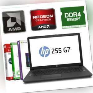 """15.6"""" HP Laptop AMD 2x 2.60GHz - 8GB DDR4 - 512GB SSD R3 Windows 10 Notebook NEU"""