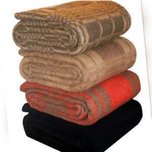 Wolldecke aus Schurwolle