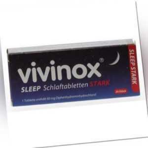 VIVINOX Sleep Schlaftabletten stark 20 St PZN: 2083906