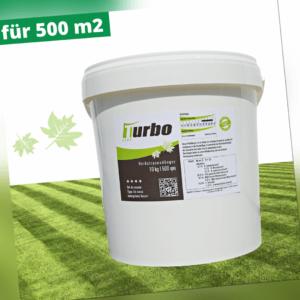 500 m² Herbst Rasendünger Kaliumsulfatstark, Langzeitwirkung und Moosverdrängung
