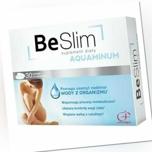 Be Slim Aquaminum 30 Tabletten Anti-Cellulite Anti Falten Pflege Antifalten