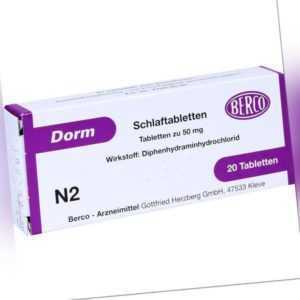 DORM Tabl.   20 st   PZN1580867