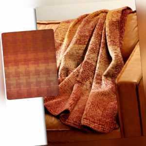 Biederlack Wohndecke Aztec in 150x200 cm Kuscheldecke im