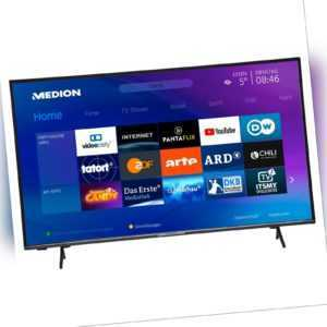 MEDION X14380 Fernseher 108cm/43'' Zoll 4K UHD Smart TV HDR10 Dolby Vision A+