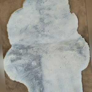 Fidibus Deko lammfell imitat 1 Stück wolke