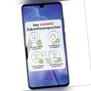 Huawei Mate 20 schwarz 128GB 4GB RAM Android Smartphone Handy...