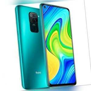 Xiaomi Redmi Note 9 64GB Handy Forest Green Android Smartphone...