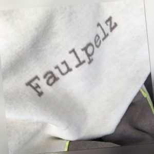 Kuscheldecke David Fussenegger Verona Faulpelz rohweiß ca 150 x