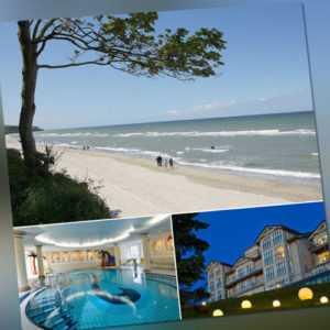 Wellness Urlaub Insel Rügen 4★ Wellness Hotel Hanseatic Göhren Ostsee 3-6 Tage