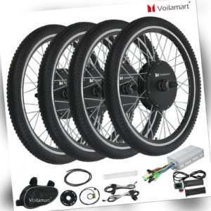 26''/28'' Voilamart E Bike Umbausatz Elektrofahrrad Ebike Motor Kit Conversion