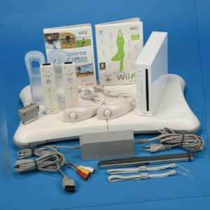Nintendo Wii Konsole Wii Sports  Wii Fit  Original 2x Remote  2x Nunchuck
