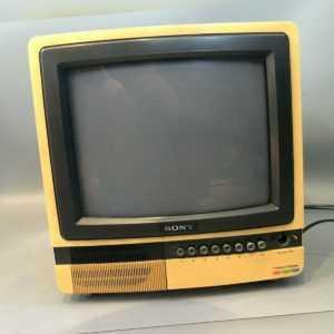 Sony KV-1340E Trinitron Color TV Receiver Defekt