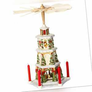 VILLEROY & BOCH Christmas Toys Memory Weihnachtspyramide 41 cm Weihnachtsdeko