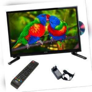 Camping LED TV Fernseher XORO HTC 1949 DVD Laufwerk 19 Zoll SAT DVB-T2 USB PVR