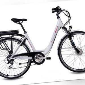 28 Zoll Elektrofahrrad Damen E-Bike CHRISSON E-LADY 8G Shimano 468Wh gebraucht
