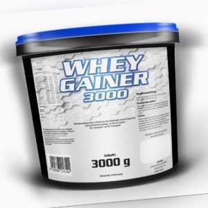 7,6€/Kg WHEY GAINER Eiweiß Aminosäuren Pulver Muskelaufbau Kohlenhydrate Protein