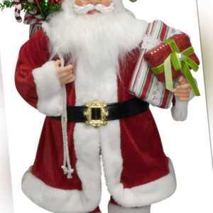 Weihnachtsmann Santa Clause Nikolaus Deko versch. Figuren und Größen