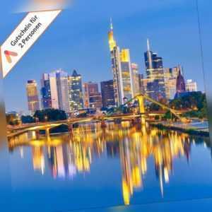 Kurzurlaub Frankfurt am Main 4* Hotel Kaiserhof 3 Tage für 2 Personen Gutschein