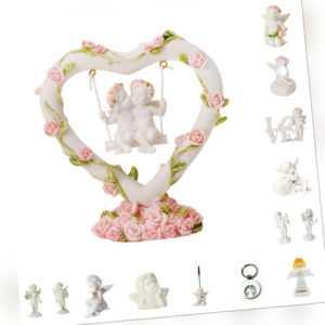 *Auswahl* Engel Dekofiguren Engelchen Dekoration Geschenk Herz Love Licht