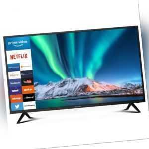 Dyon SMART 40 XT TV Fernseher 4K Full-HD 39,5 Zoll HD Triple-Tuner Smart Portal