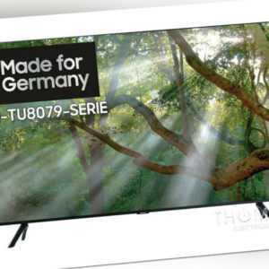 Samsung GU43TU8079UXZG 43 Zoll Smart TV 4K UltraHD WLAN AirPlay NEU OVP