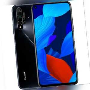 Huawei Nova 5t 128GB Black Android Smartphone Handy ohne Vertrag...