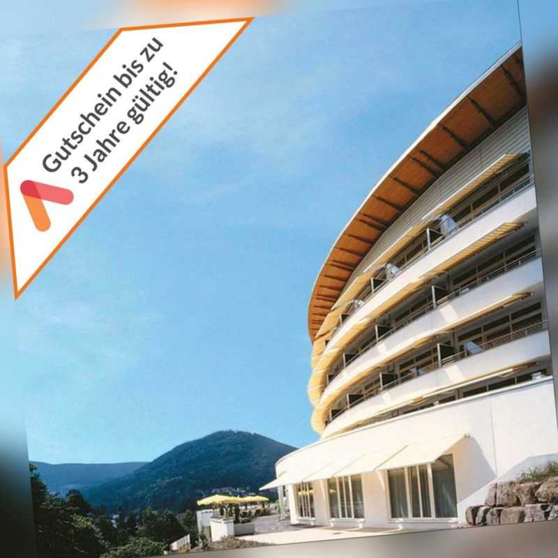 Wellness Kurzreise Schwarzwald 3 Tage 4 Sterne Luxus Panorama Hotel 2 Personen