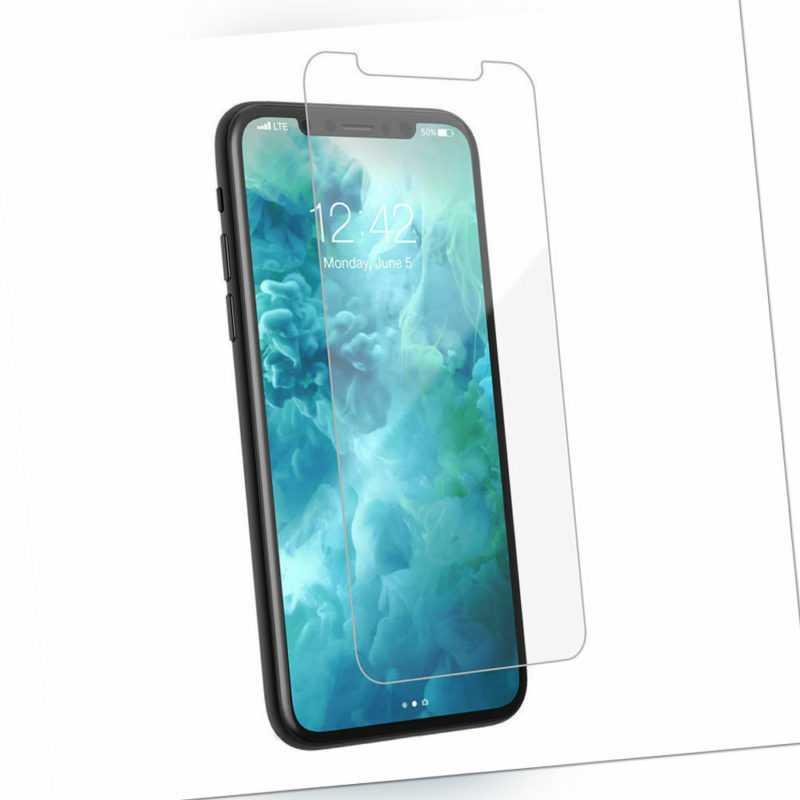 Apple iPhone Glasfolie Panzerfolie Folie Glas für 6 7 8 X XS Max Plus XR 11 12