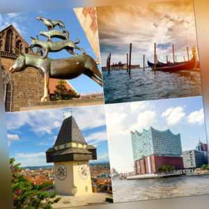 4T Kurzurlaub in eine Stadt der Wahl: 20 Städte - 5 Länder, Hotelgutschein a&o