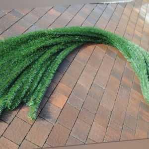 40 Meter Weihnachtsgirlande dicke Tannengirlande Grün Weihnachtsdeko In-Outdoor
