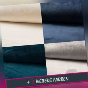 Kuschel- Wellness-Fleece Stoff super flauschig, unifarben  