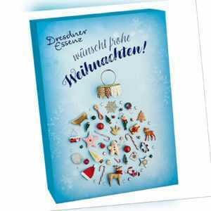 """Dresdner Essenz Adventskalender """"Natürlich schöne Weihnachten"""" mit 24 Produkten"""