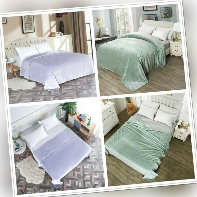 Kuscheldecke Bettdecke Schlafdecke Wohndecke Überdecke Tagesdecke
