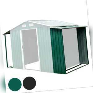 Zelsius Anbau Set für Gerätehaus 174x156/146x42 cm I Geräteschuppen Erweiterung