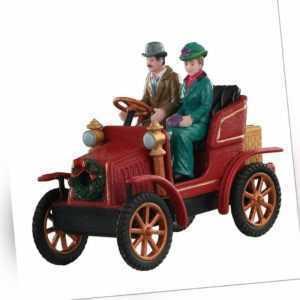 Lemax First Car in Town, Weihnachtsdorf, Weihnachtsmarkt, Modellbau,