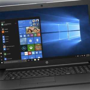 HP 17,3 Zoll Notebook 17-by2354ng 16GB RAM 512GB SSD Intel i5 10.Gen. B-Ware