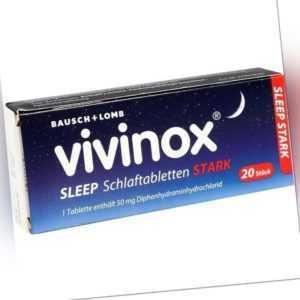 VIVINOX Sleep Schlaftabletten stark   20 st   PZN2083906
