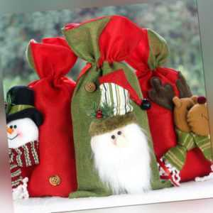 Christmas decorations decorate gift bags children's candy bags