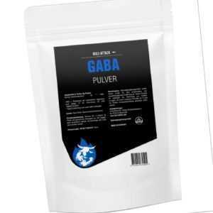 250-1000g GABA PULVER - 100% rein - reine Gamma-Amino-Buttersäure - Muskelaufbau