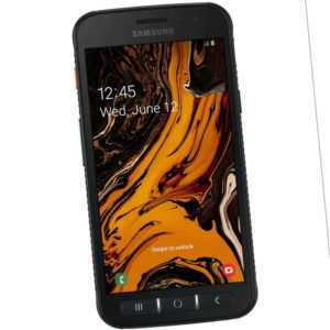 T-Mobile Galaxy XCover 4s Enterprise Edition Smartphones Schwarz