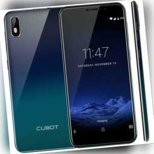 5.5 zoll Cubot J5 Android 9 Handy Ohne Vertrag RAM 2GB+16GB Smartphone Dual-SIM