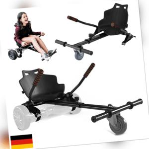 Sitzscooter Race Hoverseat Kartsitz Hoverboard Sitz Hoverkart für E-Scooter DE
