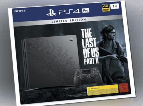 SONY Limited Edition The Last of Us PlayStation 4 Pro-Bundle NEU OVP