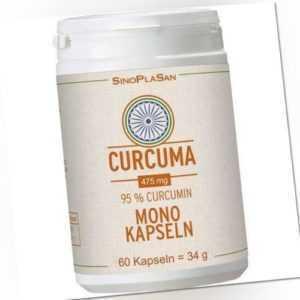 CURCUMA 475 mg 95% Curcumin Mono-Kapseln 60 St PZN 13598134