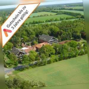 Wellness Wochenende Lüneburger Heide 2 Personen 4* Hotel Gutschein 3 bis 4 Tage