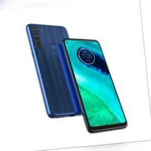 Motorola Moto G8 64GB - Blue Smartphone Android 6,4 Zoll Qualcomm...
