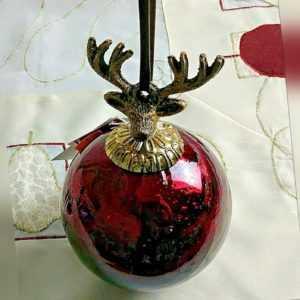 Villeroy & Boch Christmas Toys Decokugel Hirsch ca. 10cm NEU mehr verfügbar