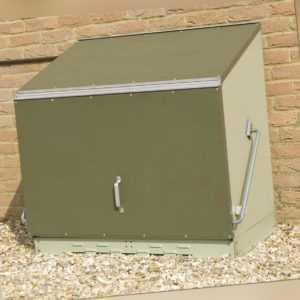 Gerätebox Aufbewahrungsbox Sentinel Multifunktionsbox Gartenschrank Trimetals