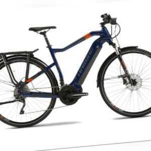 B-Ware: Haibike SDURO Trek 5.0 YSTM (500Wh) E-Bike Herren,R 64cm, bl/or/gr,